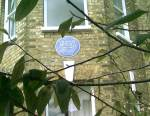 Blackheath's Donald McGill Blue Plaque