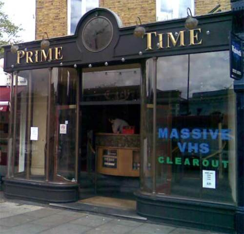 the best video store in the world... Or in Blackheath