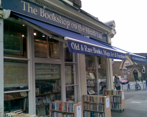 The Bookshop on the Heath in Blackheath