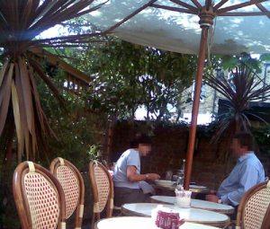 Cafe Rouge Garden, Blackheath
