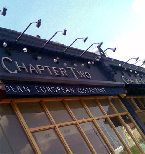 Chapter Two Blackheath Restaurant