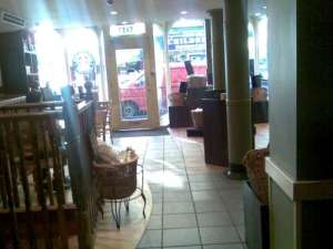 Blackheath Starbucks Empty