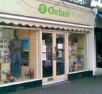 Oxfam shop in Blackheath