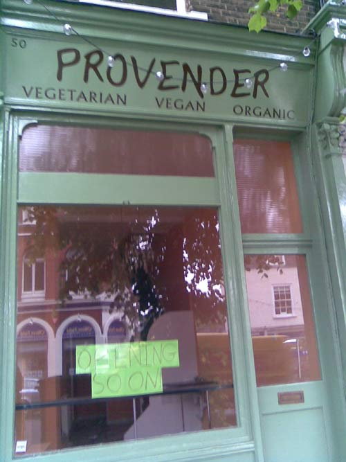 Provender Cafe, Blackheath