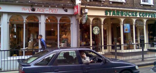 Blackheath Village Deli and Starbucks