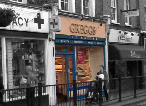Greggs The Bakers, sort of