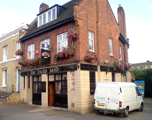 Dacre Arms Pub, near Blackheath