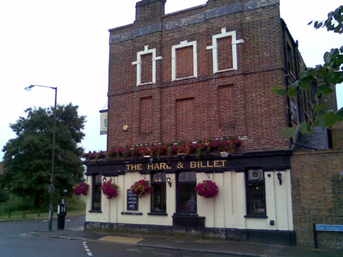 The Hare and Billet Pub, Blackheath