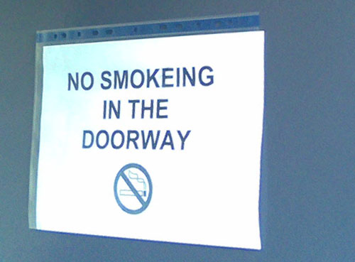 smokeing