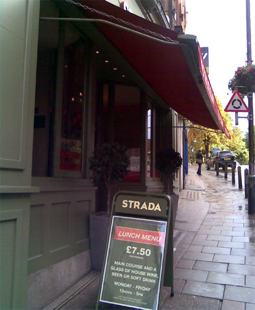 Strada Restaurant, Blackheath