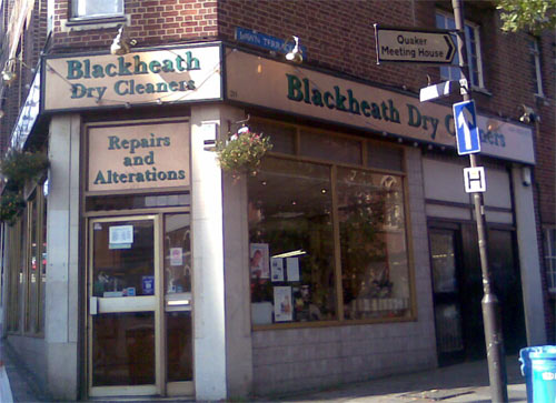 Blackheath Dry Cleaners, 20 Blackheath Village