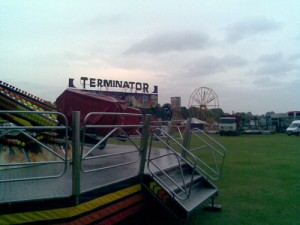 Blackheath Fair Terminator Ride