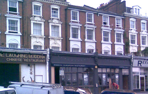 Chapter Two Restaurant, Blackheath building works