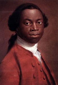 Olaudah Equiano portrait from Wikipedia