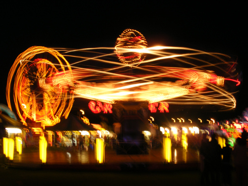 Blackheath Funfair fairground ride by Emma Webb