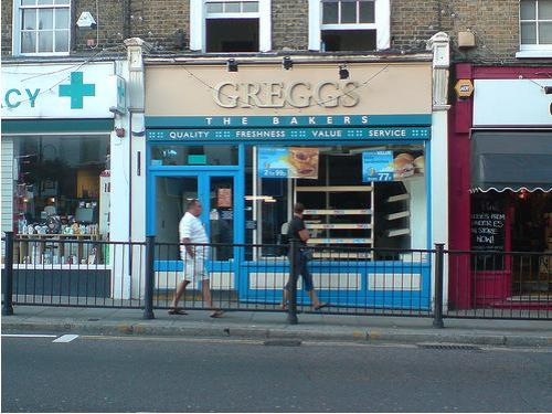 Greggs in Blackheath