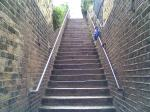 The steps down into Blackheath Vale from Goffers Road