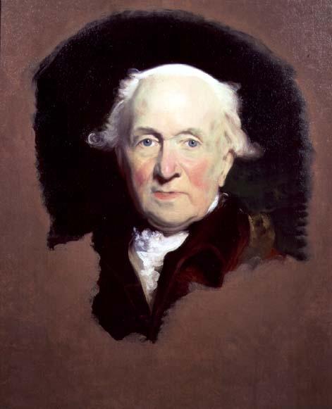 John Julius Angerstein, resident of Blackheath