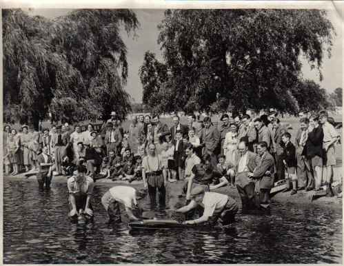 Blackheath Model Boat Regatta 1956