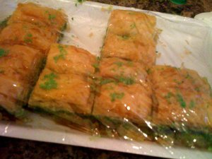 Baklava from Turkish Food Centre, in Lewisham