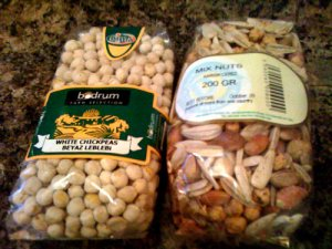 Nuts from Turkish Food Centre, in Lewisham