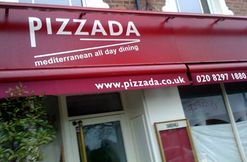Pizzada restaurant in Blackheath