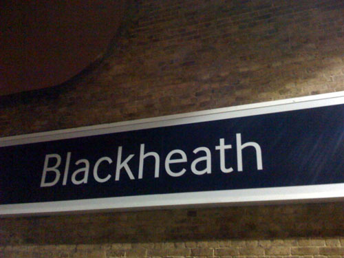Blackheath new station sign bigger