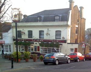 The Crown pub Blackheath new years eve