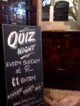 Blackheath Royal Standard Pub, London, SE3, Quiz Night