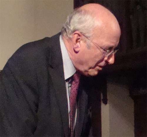 Nick Raynsford MP for Greenwich and Woolwich by flickr user joyoflife