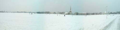 Blackheath Snow Panorama