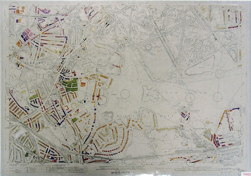 Blackheath Bomb Damage Map from London Metropolitan Archives taken by Flickr user Yersinia