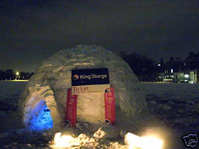 The Blackheath Igloo on eBay