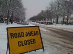 Greenwich Observatory  Road Closed
