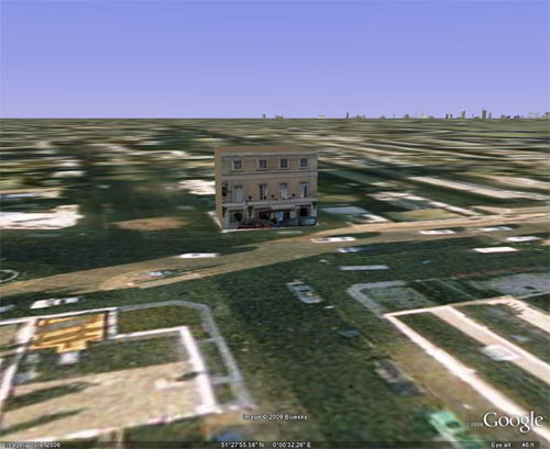 The Railway Pub, Blackheath in 3D