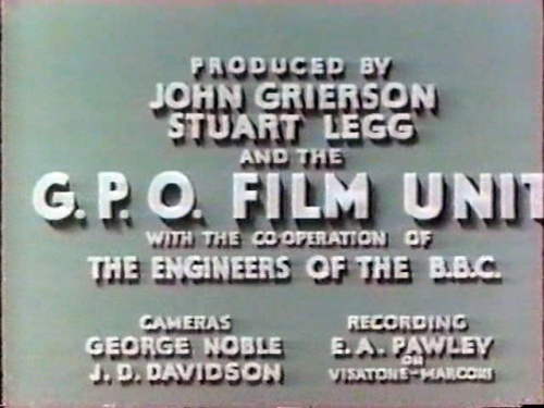 BBC Voice of Britain with the GPO Film Unit