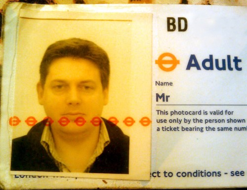 Lost travelcard in Blackheath
