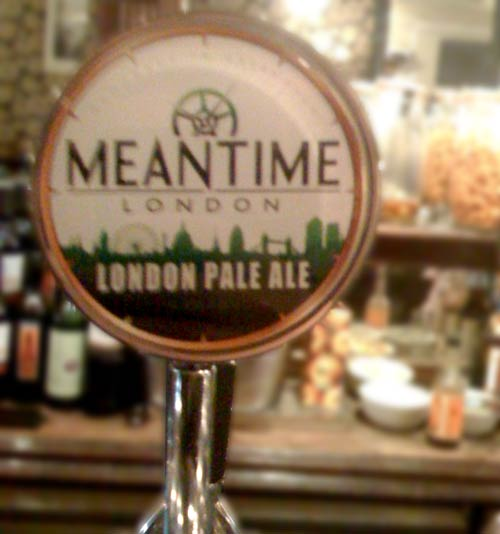 Meantime Indian Pale Ale in the Princess of Wales