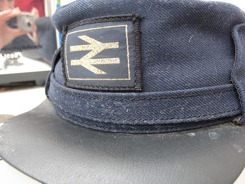 British Rail hat by flickr user Geshmally