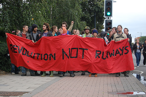 Climate Change march from 2007 by flickr user Andrew*