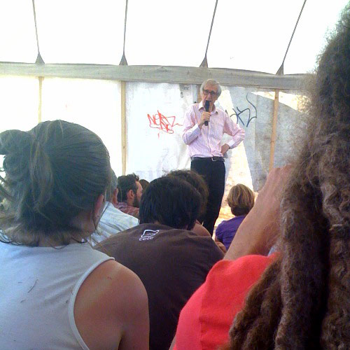 Talk at the Blackheath Climate Camp