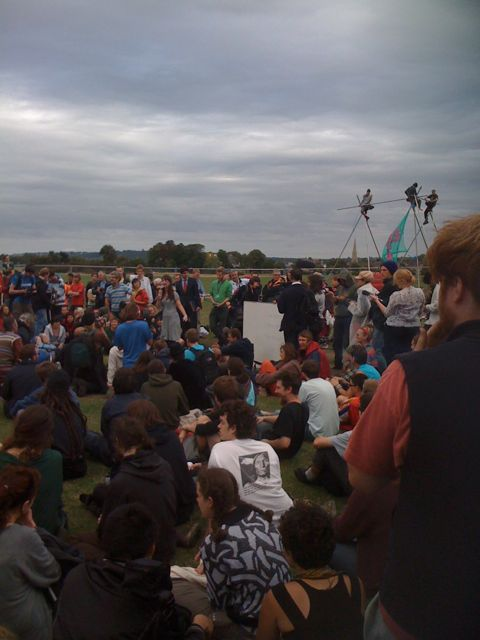 Climate Change Protestors on Blackheath by darryl1974