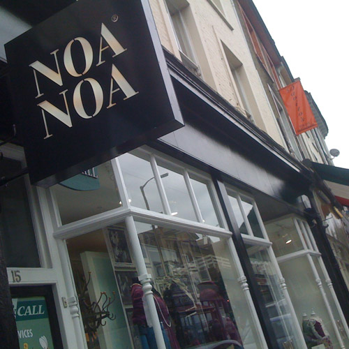 Noa Noa clothes shop in Blackheath