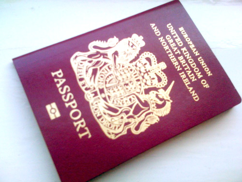 Hooray for passports!
