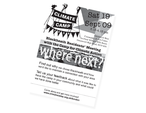 Blackheath Climate Camp pdf