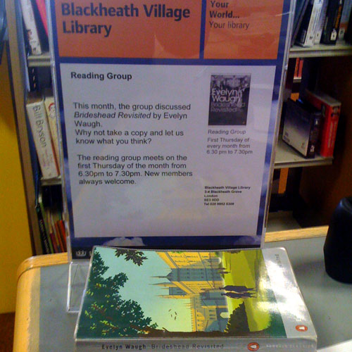 Book Club at Blackheath Village Library