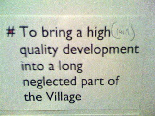 A dissenting view of the plans for the square in Blackheath