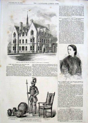 Blackheath Hospital in the Illustrated London News from 1856.
