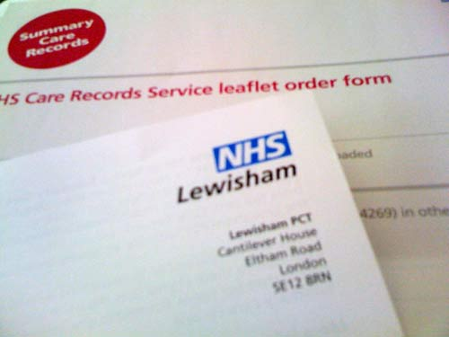 NHS opt out medical records