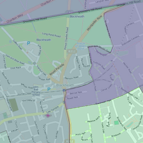 Leaflets delivered by constituency